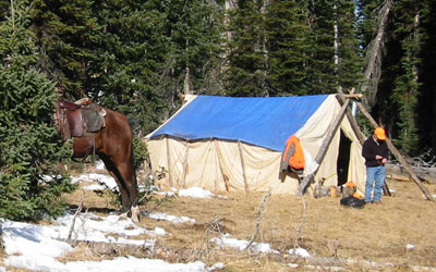 Drop Camps in Northwest Colorado - Flat Tops Wilderness Area